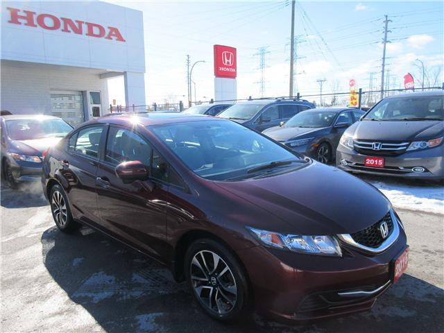2015 Honda Civic EX (Stk: 26250L) in Ottawa - Image 2 of 11