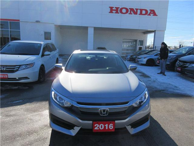 2016 Honda Civic EX (Stk: 26594A) in Ottawa - Image 2 of 10