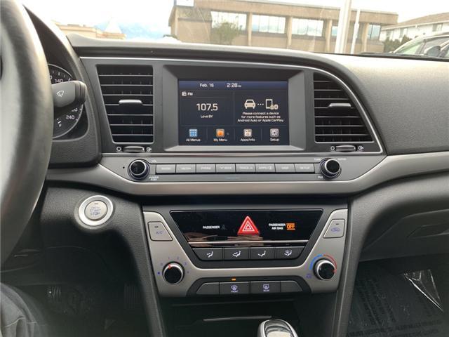 2018 Hyundai Elantra GL SE (Stk: H19-0019P) in Chilliwack - Image 11 of 12