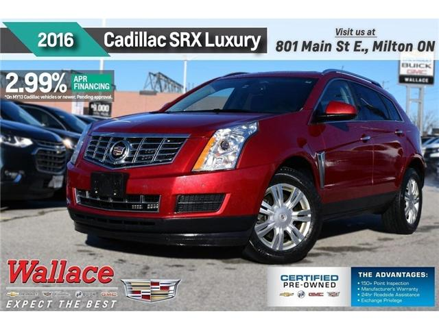 2016 Cadillac SRX LUXURY COLLECTION/AWD/SUNRF/HTD STS/NAV/BOSE (Stk: PL5175) in Milton - Image 1 of 20