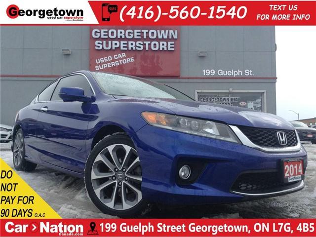 2014 Honda Accord EX-L | V6 | NAVI | LEATHER | CAMERA | SUNROOF (Stk: P11841) in Georgetown - Image 1 of 24