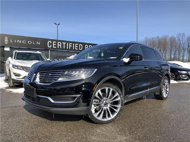 2017 Lincoln MKX Reserve (Stk: DAN24733) in Barrie - Image 1 of 28