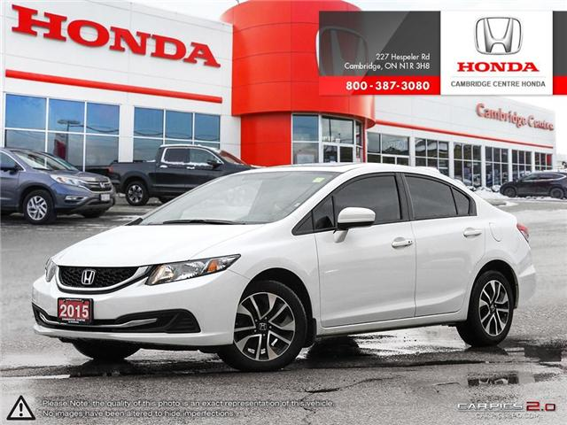 2015 Honda Civic EX (Stk: 19472A) in Cambridge - Image 1 of 27