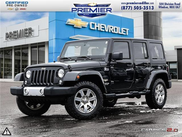 2014 Jeep Wrangler Unlimited Sahara (Stk: P19039) in Windsor - Image 1 of 27