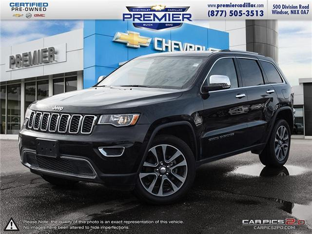 2018 Jeep Grand Cherokee Limited (Stk: P19043) in Windsor - Image 1 of 28