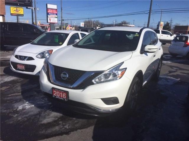 2016 Nissan Murano S (Stk: N1381) in Hamilton - Image 1 of 1