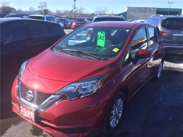 2018 Nissan Versa Note 1.6 SV (Stk: N1398) in Hamilton - Image 1 of 1