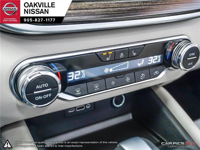 2019 Nissan Altima 2.5 Platinum (Stk: N19148) in Oakville - Image 20 of 27