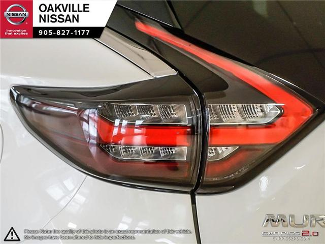 2019 Nissan Murano Platinum (Stk: N19176) in Oakville - Image 12 of 27