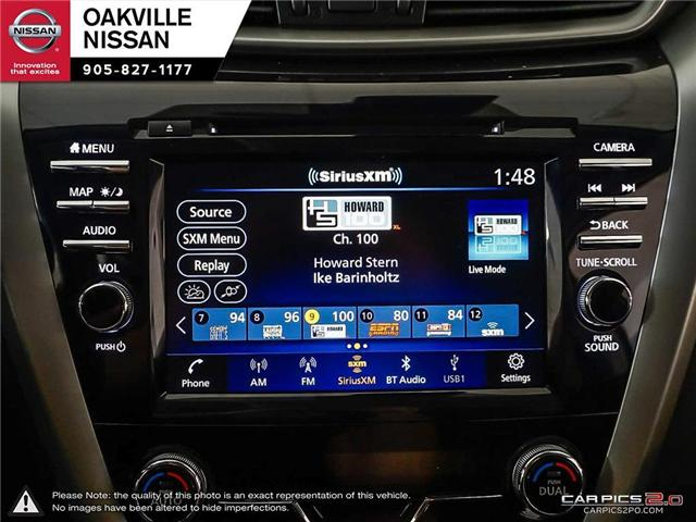 2019 Nissan Murano Platinum (Stk: N19176) in Oakville - Image 21 of 27