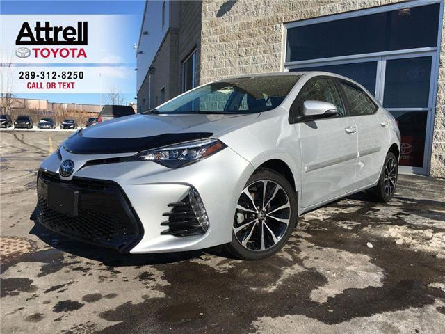 2018 Toyota Corolla SE UPGRADE HEATED STEERING, ALLOYS, MOONROOF, SPOI (Stk: 8542) in Brampton - Image 1 of 28