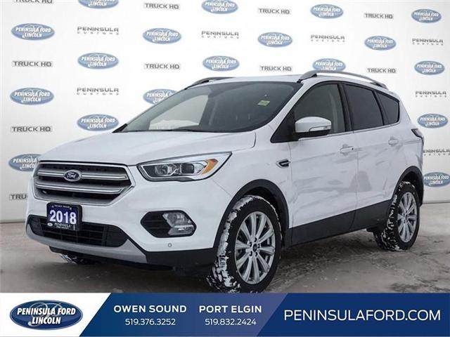 2018 Ford Escape Titanium (Stk: 1695) in Owen Sound - Image 1 of 24