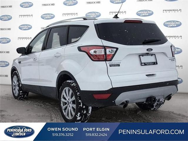 2018 Ford Escape Titanium (Stk: 1695) in Owen Sound - Image 4 of 24