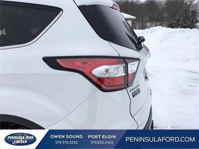 2018 Ford Escape Titanium (Stk: 1695) in Owen Sound - Image 10 of 24