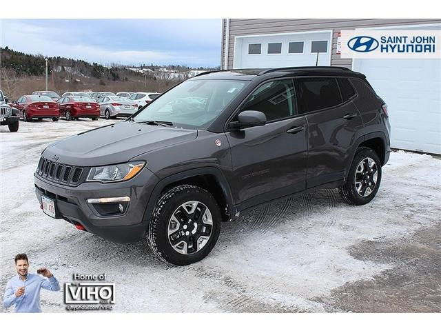 2017 Jeep Compass Trailhawk (Stk: 96598A) in Saint John - Image 2 of 22