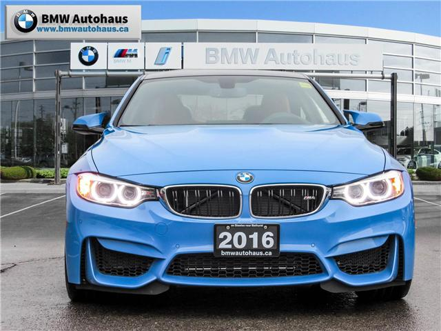 2016 BMW M4 Base (Stk: 19142A) in Thornhill - Image 2 of 28