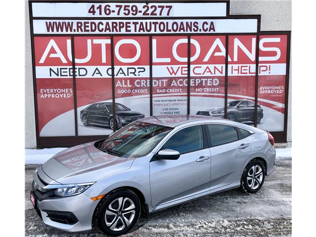 2017 Honda Civic LX (Stk: 023055) in Toronto - Image 1 of 14