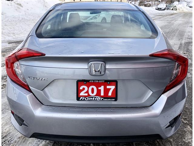 2017 Honda Civic LX (Stk: 023055) in Toronto - Image 6 of 14