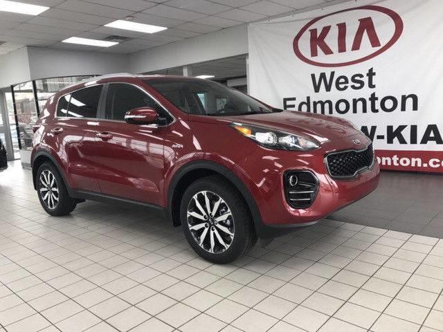 2019 Kia Sportage EX (Stk: 21400) in Edmonton - Image 1 of 16