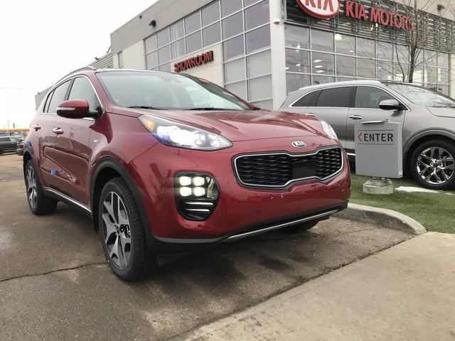 2019 Kia Sportage SX Turbo (Stk: 21432) in Edmonton - Image 1 of 19