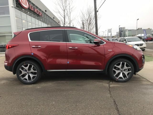 2019 Kia Sportage SX Turbo (Stk: 21432) in Edmonton - Image 7 of 19