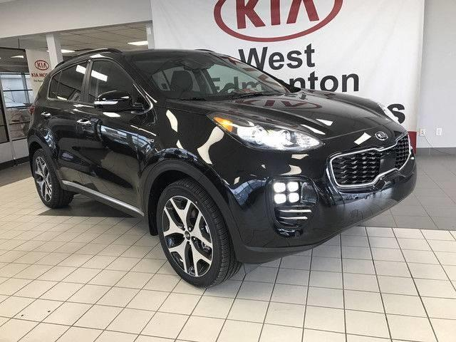 2019 Kia Sportage SX Turbo (Stk: 21512) in Edmonton - Image 1 of 25