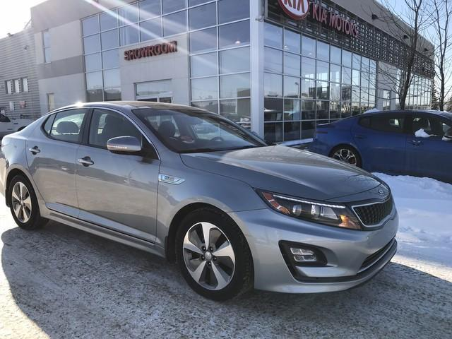 2014 Kia Optima Hybrid EX (Stk: 7275) in Edmonton - Image 1 of 20