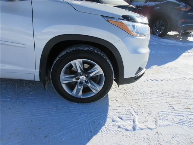 2014 Toyota Highlander Limited (Stk: 8554) in Okotoks - Image 22 of 25