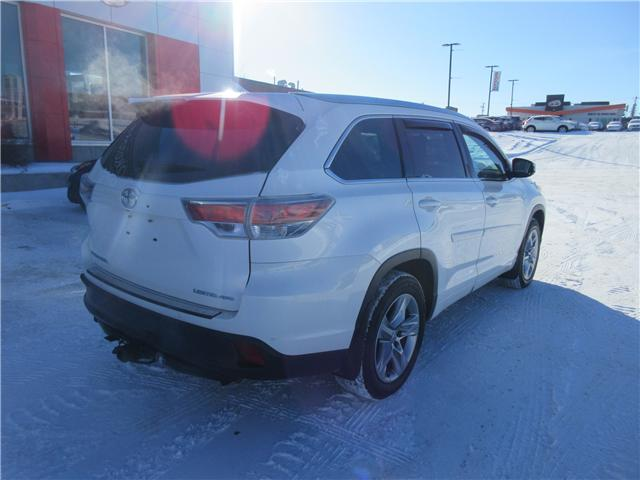 2014 Toyota Highlander Limited (Stk: 8554) in Okotoks - Image 23 of 25