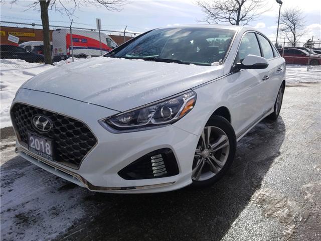 2018 Hyundai Sonata 2.4 Sport (Stk: op10087) in Mississauga - Image 1 of 16
