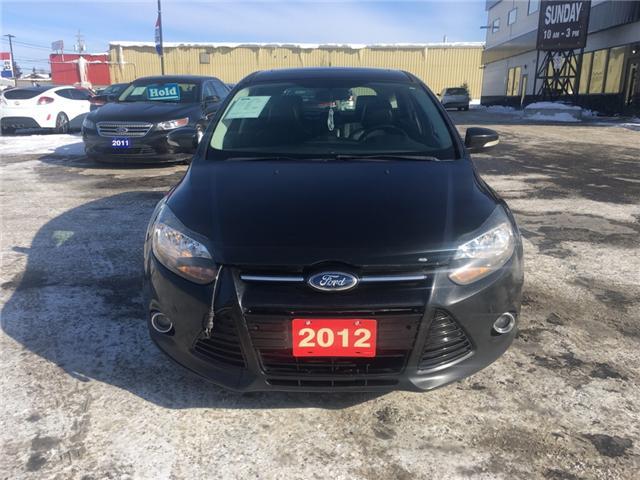2012 Ford Focus Titanium (Stk: 18527-1) in Sudbury - Image 2 of 12