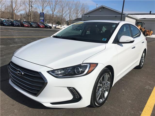 2017 Hyundai Elantra Limited (Stk: U3350) in Charlottetown - Image 1 of 22