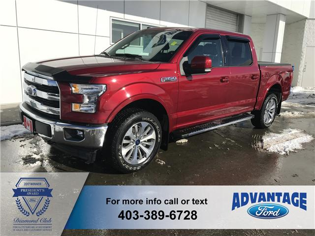 2017 Ford F-150 Lariat (Stk: J-1912A) in Calgary - Image 1 of 18