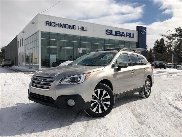 2017 Subaru Outback 2.5i Limited (Stk: P03789) in RICHMOND HILL - Image 1 of 24