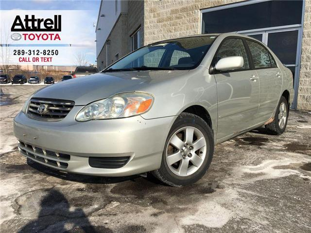 2003 Toyota Corolla LE ALLOY WHEELS, TILT, ABS, WOOD ACCENT DASH, KEYL (Stk: 38798A) in Brampton - Image 1 of 23