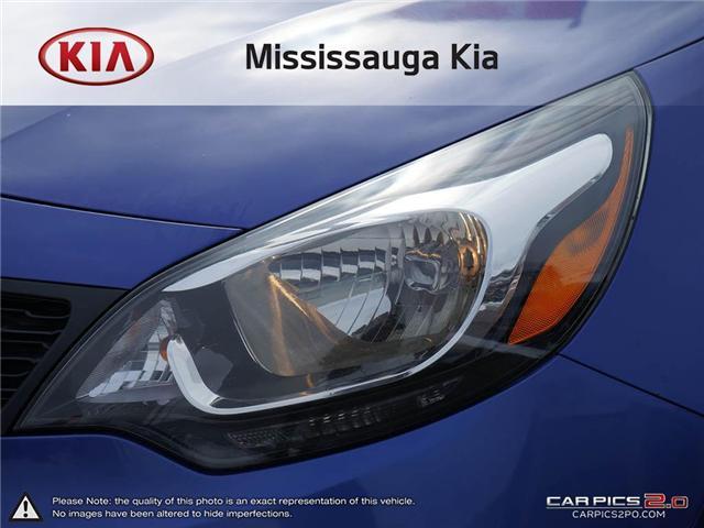 2013 Kia Rio LX+ (Stk: 4505P) in Mississauga - Image 10 of 27