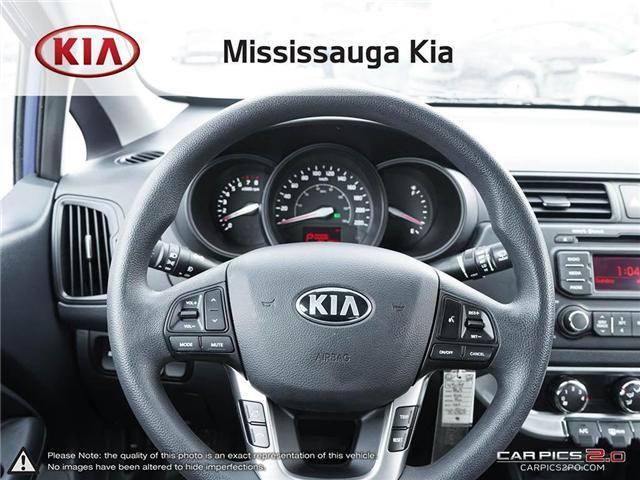 2013 Kia Rio LX+ (Stk: 4505P) in Mississauga - Image 14 of 27