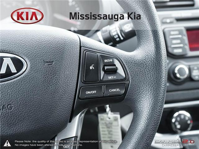 2013 Kia Rio LX+ (Stk: 4505P) in Mississauga - Image 19 of 27
