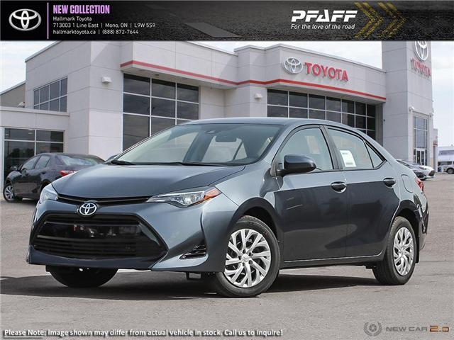 2019 Toyota Corolla 4-door Sedan LE CVTi-S (Stk: H19277) in Orangeville - Image 1 of 24