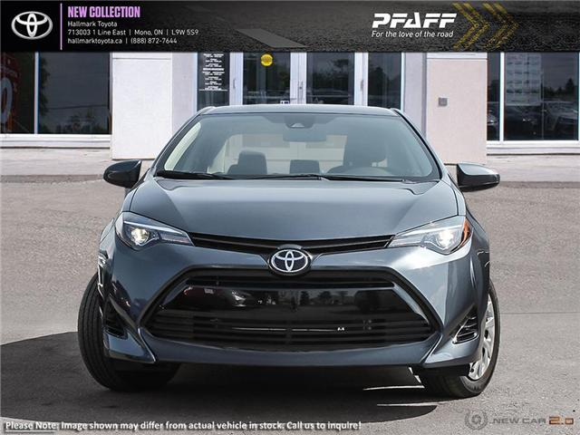 2019 Toyota Corolla 4-door Sedan LE CVTi-S (Stk: H19277) in Orangeville - Image 2 of 24