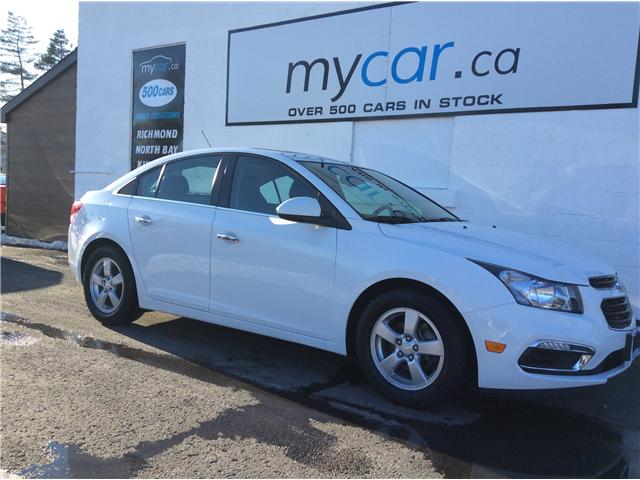 2015 Chevrolet Cruze 1LT (Stk: 190118) in Richmond - Image 1 of 21