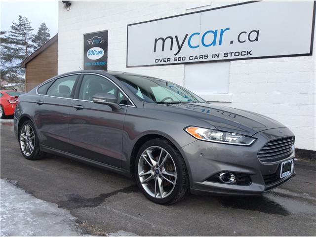 2013 Ford Fusion Titanium (Stk: 190153) in Richmond - Image 1 of 21