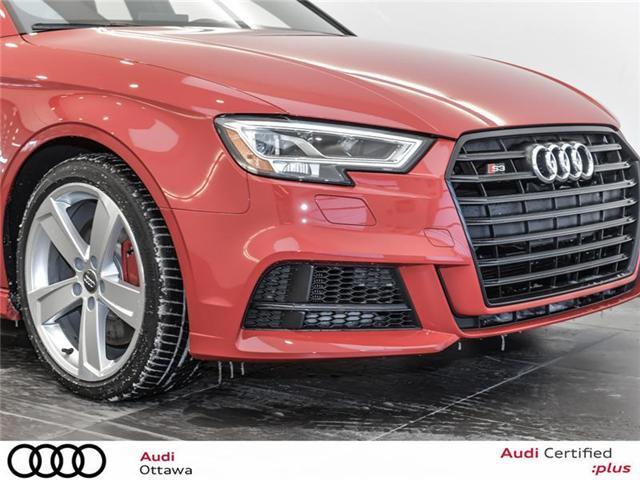 2018 Audi S3 2.0T Progressiv (Stk: 51937) in Ottawa - Image 10 of 22