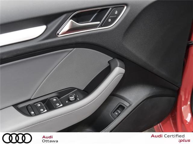 2018 Audi S3 2.0T Progressiv (Stk: 51937) in Ottawa - Image 12 of 22