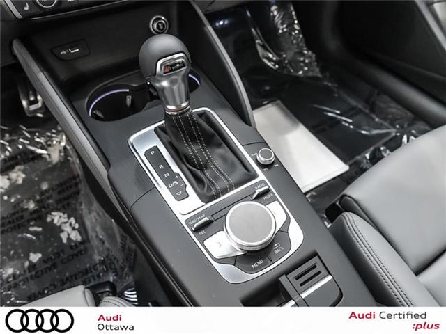 2018 Audi S3 2.0T Progressiv (Stk: 51937) in Ottawa - Image 19 of 22