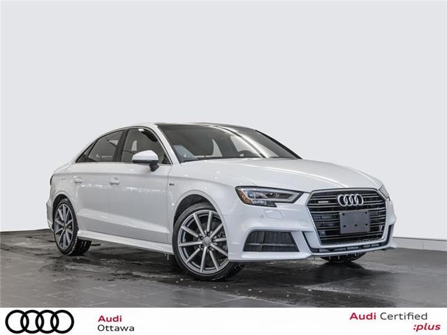 2018 Audi A3 2.0T Progressiv (Stk: 52149) in Ottawa - Image 1 of 22