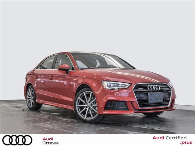 2018 Audi A3 2.0T Progressiv (Stk: 52223) in Ottawa - Image 1 of 22