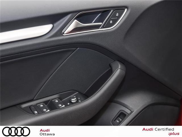 2018 Audi A3 2.0T Progressiv (Stk: 52223) in Ottawa - Image 13 of 22