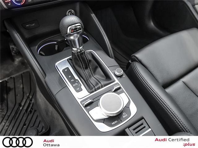 2018 Audi A3 2.0T Progressiv (Stk: 52223) in Ottawa - Image 20 of 22