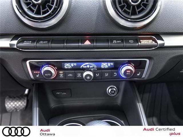 2018 Audi A3 2.0T Progressiv (Stk: 52223) in Ottawa - Image 21 of 22